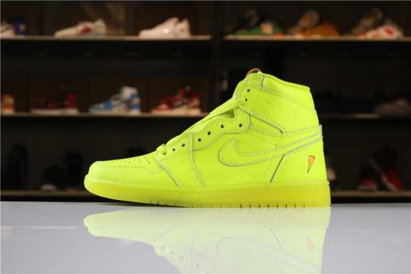 "New Air Jordan 1 Retro High OG Gatorade ""Cyber"" AJ5997-345 For Sale"