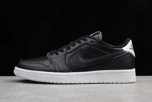 Air Jordan 1 Retro Low OG Premium ' yber Monday' Black White 705329-010