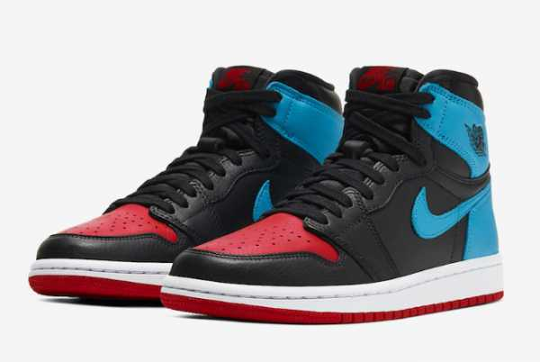 Cheap Air Jordan 1 High OG UNC To Chicago CD0461-046 For Sale