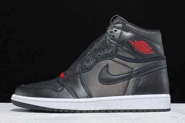 "2020 Men' s Air Jordan 1 High OG ""Black Satin"" 555088-060 For Sale"