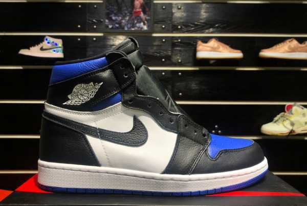 2020 Cheap Air Jordan 1 Retro High OG Game Royal 555088-041 For Sale