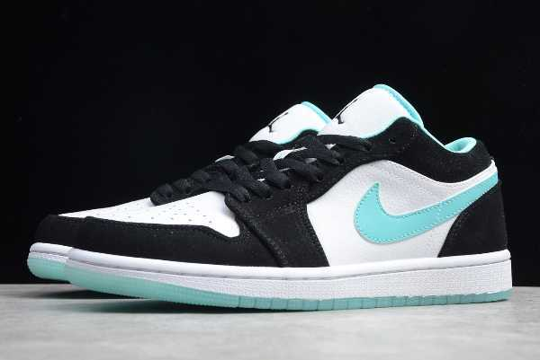 CQ9828-131 Mens and WMNS Air Jordan 1 Low Island Green For Sale