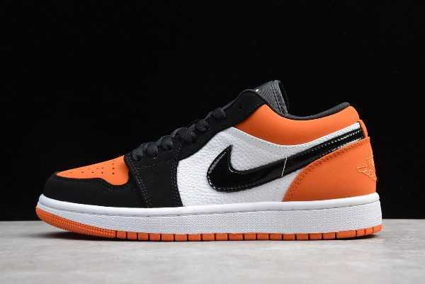 "Air Jordan 1 Low Flyknit ""Shattered Backboard"" Black White"