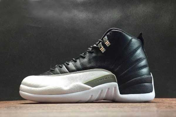 Air Jordan 12 XII Retro ' layoffs' Black/White-Varsity Red Free Shipping