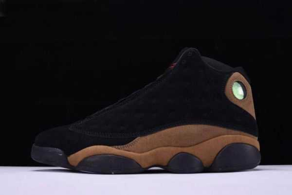 Air Jordan 13 Retro ' live' Black/True Red-Light Olive Shoes 414571-006