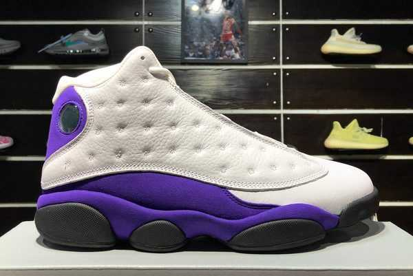 Air Jordan 13 Lakers Rivals 414571-105 For Cheap