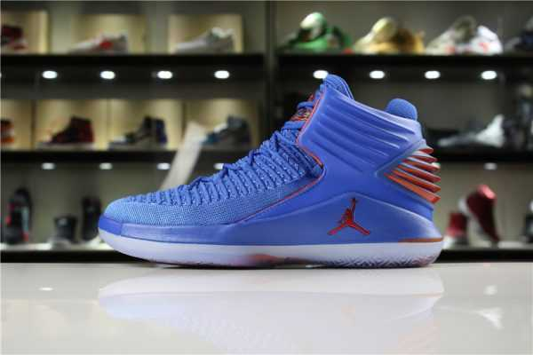 "Men' s Size Air Jordan 32 XXXII ""Russell Westbrook"" Why Not In OKC Colors"