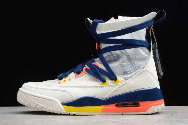 BQ8394-100 Mens and WMNS Air Jordan 3 Exp Lite XX Sail Multi-Color For Sale