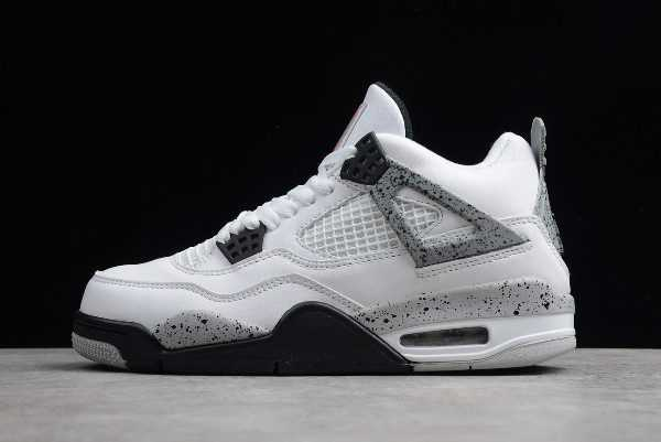 New Air Jordan 4 Retro White Cement Grey Price