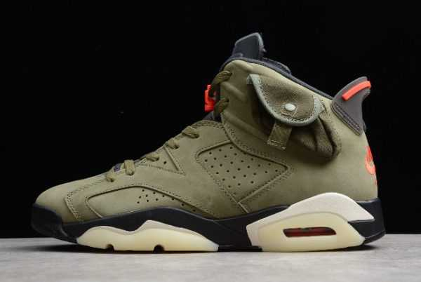 Travis Scott x Air Jordan 6 Medium Olive To Buy CN1084-200