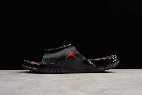 2018 Nike Air Jordan Hydro 11 Retro Slide Black/Red Sandals
