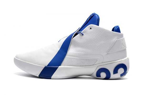 Air Jordan Ultra Fly 3 White/Royal Blue For Sale
